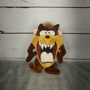 Warner Bros TAZ Big Head Tasmanian Devil Plush Dog